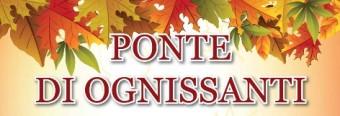 SOSPENSIONE DELLE LEZIONI – 1/11/2021 PONTE TUTTI I SANTI