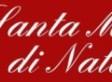 Martedì 17 dicembre ore 20.30 -S. Messa di Natale all'Ist. S. Gemma