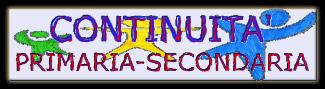 PROGETTO CONTINUITA' – Primaria&Secondaria