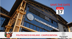 """Sabato 17 Novembre """"Coolest Projects Milano"""" al Politecnico Milano Bovisa"""