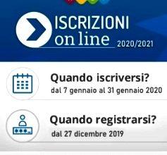 """dal 07/01/2020 al 31/01/2020 """"Iscrizioni anno scolastico 2020/2021"""" – future PRIME Scuole STATALI"""