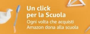 Donate al S Gemma su Amazon: al via Un Click per la Scuola