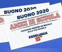 Esselunga – Amici di Scuola 2020 : Porta i Buoni al S GEMMA!