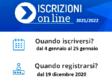 """dal 04/01/2021 al 25/01/2021 """"Iscrizioni anno scolastico 2021/2022"""" – future PRIME Scuole STATALI"""