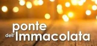 7 e 8 dicembre scuola chiusa per Ponte Immacolata