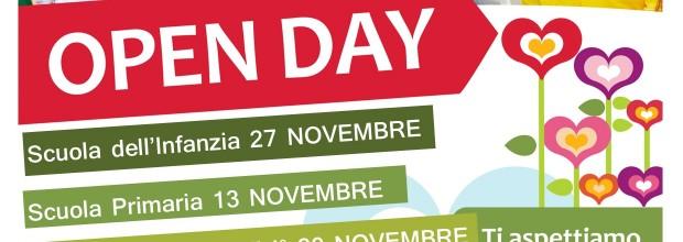 OPEN DAY  2021 S. GEMMA INFANZIA-PRIMARIA- SECONDARIA – Richiedeteci il LINK per collegarvi !