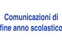 Comunicazioni Finali as 2020/21 INFANZIA+PRIMARIA+ SECONDARIA I Grado